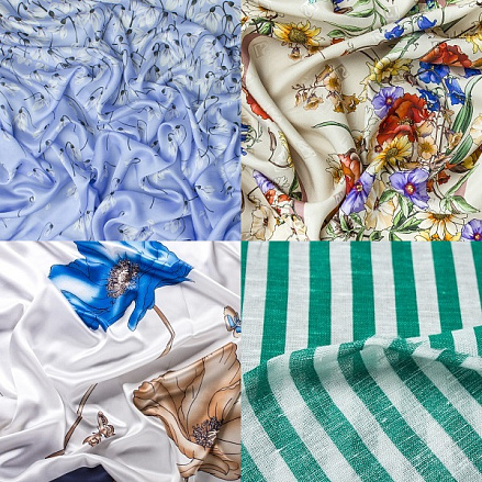 Купить ткань шелк для блузки хлопок ткань купить в москве недорого